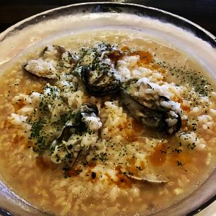 牡蠣のカルドソ